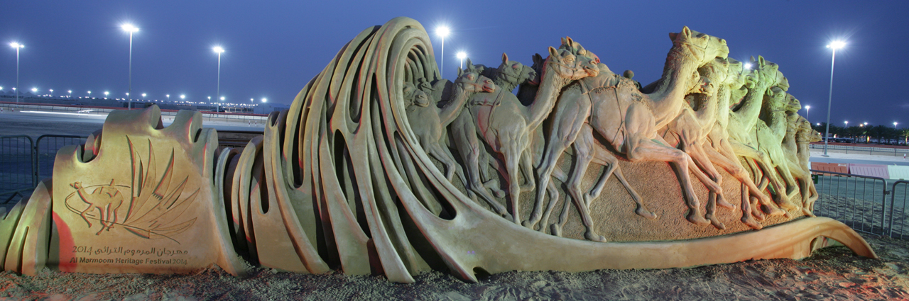 Lights on Sand Sculpture Night time Festival Events Sculpting Sand – Jennifer Rossen