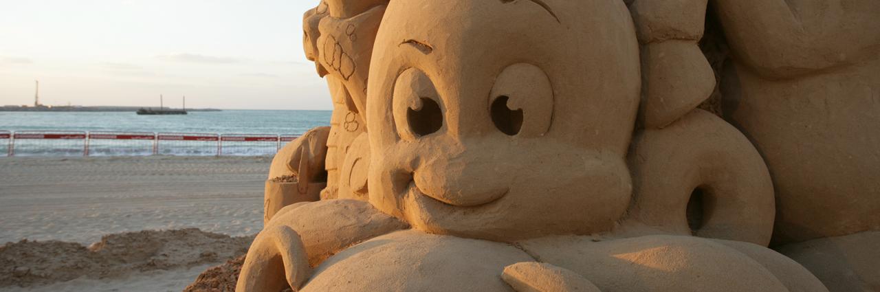 Beach Theme Octopus Sand Sculpture Sculpting Sand – Jennifer Rossen